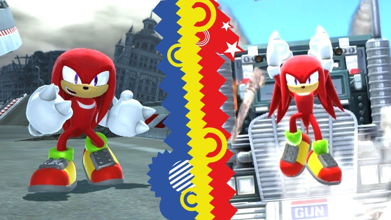 Sonic Generations Knuckles Mod
