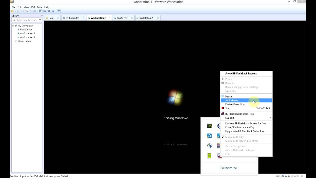 Fog server installation and client imaging example youtube for Consul server vs client