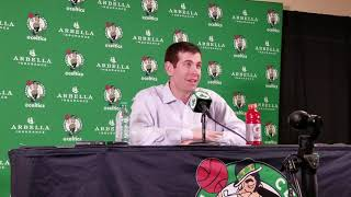Brad Stevens says he thinks about new lineups every day