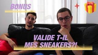 CLAV VALIDE T-IL MES SNEAKERS?! (Bonus) + CONCOURS