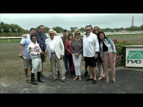 video thumbnail for MONMOUTH PARK 9-14-19 RACE 5 – THE JOEY P HANDICAP