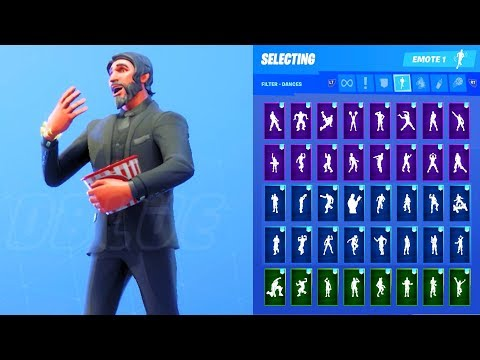 THE REAPER SKIN SHOWCASE WITH ALL FORTNITE DANCES & EMOTES