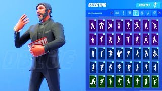 IL REAPER SKIN SHOWCASE CON TUTTI FORTNITE DANCES & EMOTES