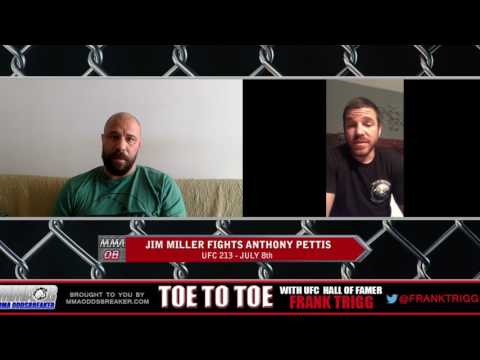 Frank Trigg pre-fight interview with UFC 213's Jim Miller