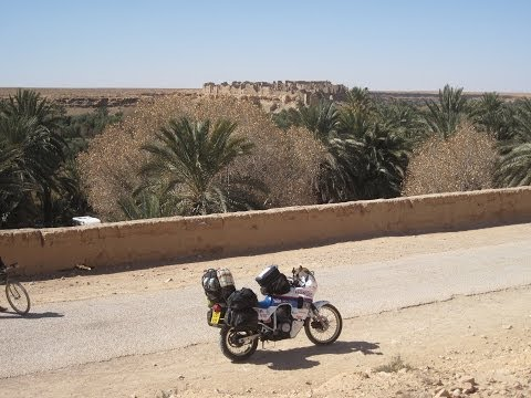 [Slow TV] Motorcycle Ride - Morocco - Gorges du Ziz