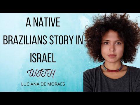 Native Brazilian's Story In Israel