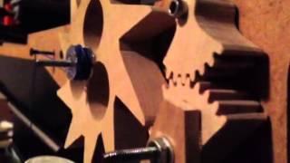 Wooden Clock Escapement