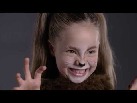 Fun Halloween Makeup Tutorial - Lion Costume for Pottery Barn Kids