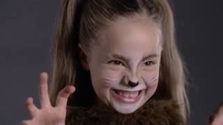 Fun Halloween Makeup Tutorial - Lion Costume for Pottery Barn Kids