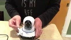 Setting up Wireless IP Camera using NetCam