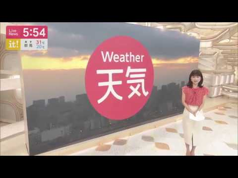 Weather Forecast in Japanese TV - Tokyo - 14th of September 2019
