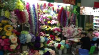 цветы оптом из Китая, оптовый рынок цветов в китайском городе Иу(В настоящее время Китайский город Иу (Yiwu) остается мировым лидером в сфере производства и продажи оптом..., 2016-07-29T17:03:40.000Z)