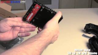 Western Digital 600 GB VelociRaptor 10K RPM HDD Unboxing