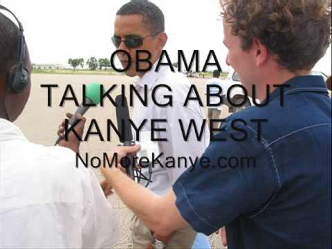 Obama Calls Kanye West a Jackass - **ACTUAL CLIP** 9/14/2009