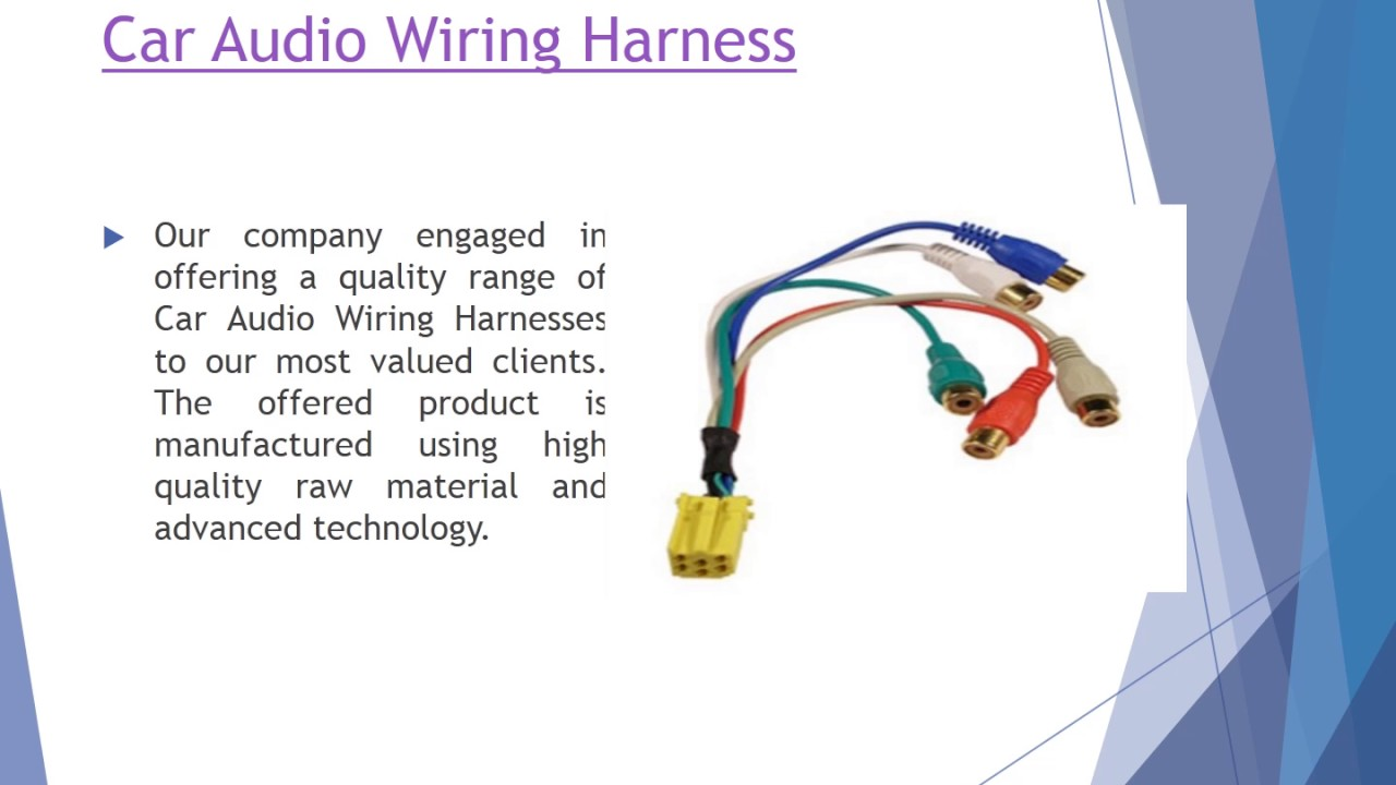 Automotive Wiring Harness Manufacturers In Pune Solutions Auto India Neptune Enterprises Manufacturer Of You