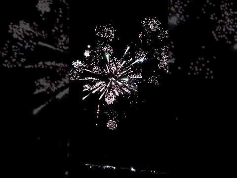 Fireworks. Superbowl Speedway