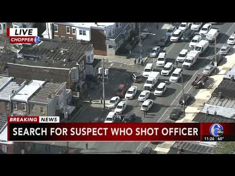 Philadelphia police officer shot in Kensington