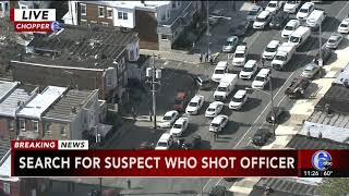 Philadelphia police officer shot in Kensington