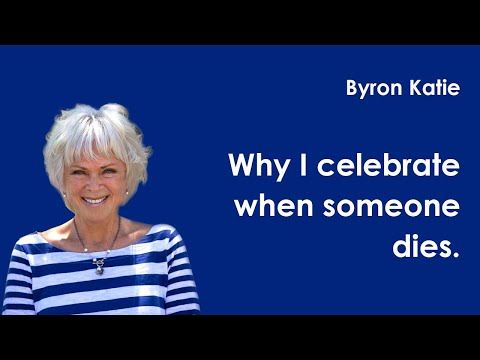 Byron Katie - Death Dialogue with Small Boy.  January, 2010