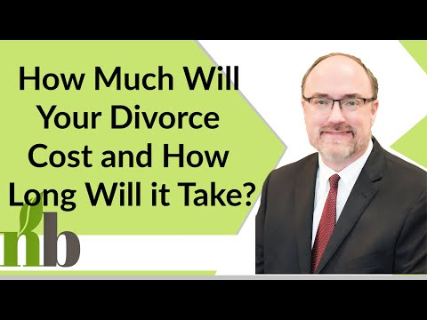 How Much Will Your Divorce Cost and How Long Will It Take? | Alabama Family Law | Divorce Attorney