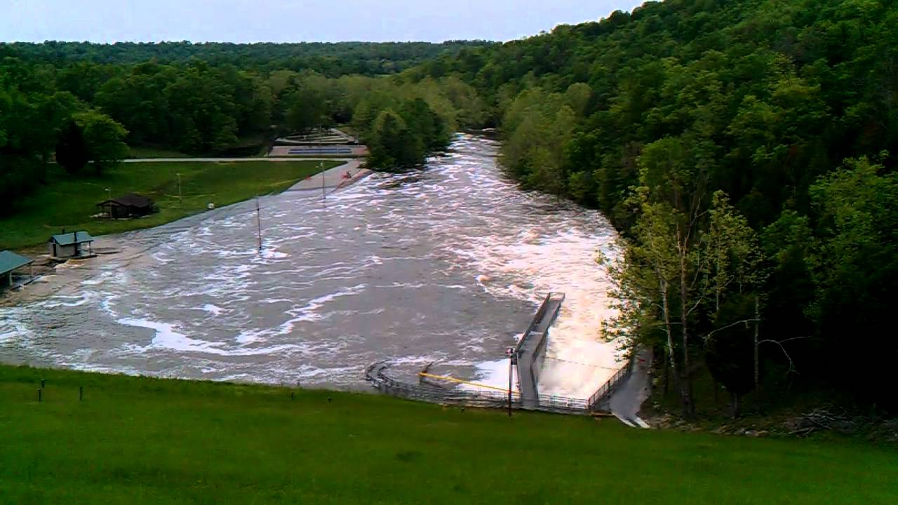 Rough River Dam 2017 Flood