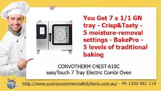 Convotherm easyTouch Combi Oven - Restaurant Equipment(http://www.sydneycommercialkitchens.com.au/catering-equipment/combi-ovens/Convotherm/convotherm-c4est-610c-easytouch-7-tray-electric-combi-oven The ..., 2015-02-24T05:01:03.000Z)