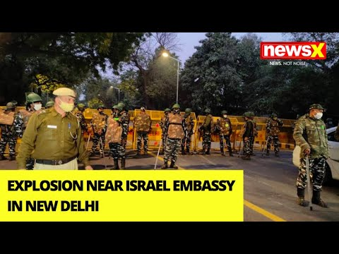 IED Blast Near Israel Embassy In Delhi | Who Wanted To Target The Embassy? | NewsX