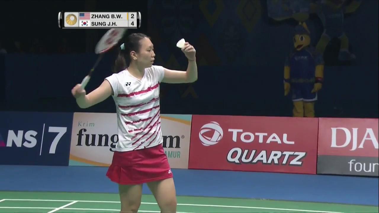 BCA Indonesia Open 2017 Badminton SF M5 WS