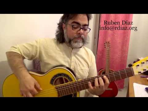 Learn (+Tabs) Paco de Lucia`s Legato pattern (3 notes) Flamenco Technique online learning/Ruben Diaz