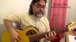 Learn (+Tabs) Paco de Lucia`s Legato pattern (3 notes) Flamenco Technique online learning/Ruben Diaz