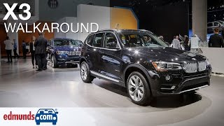 2016 BMW X3 Walkaround(The 2016 BMW X3 is an excellent, if somewhat pricey, choice for a luxury crossover SUV, with a broad selection of engines and wide-ranging talents., 2015-12-22T21:46:19.000Z)