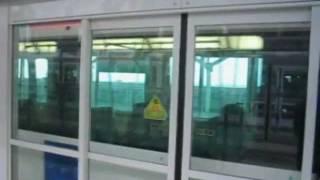 100形リニモ万博八草行(万博会場駅・現・万博公園駅発車) Form 100 Linimo for Banpaku-Yakusa Departing from AICHI-EXPO
