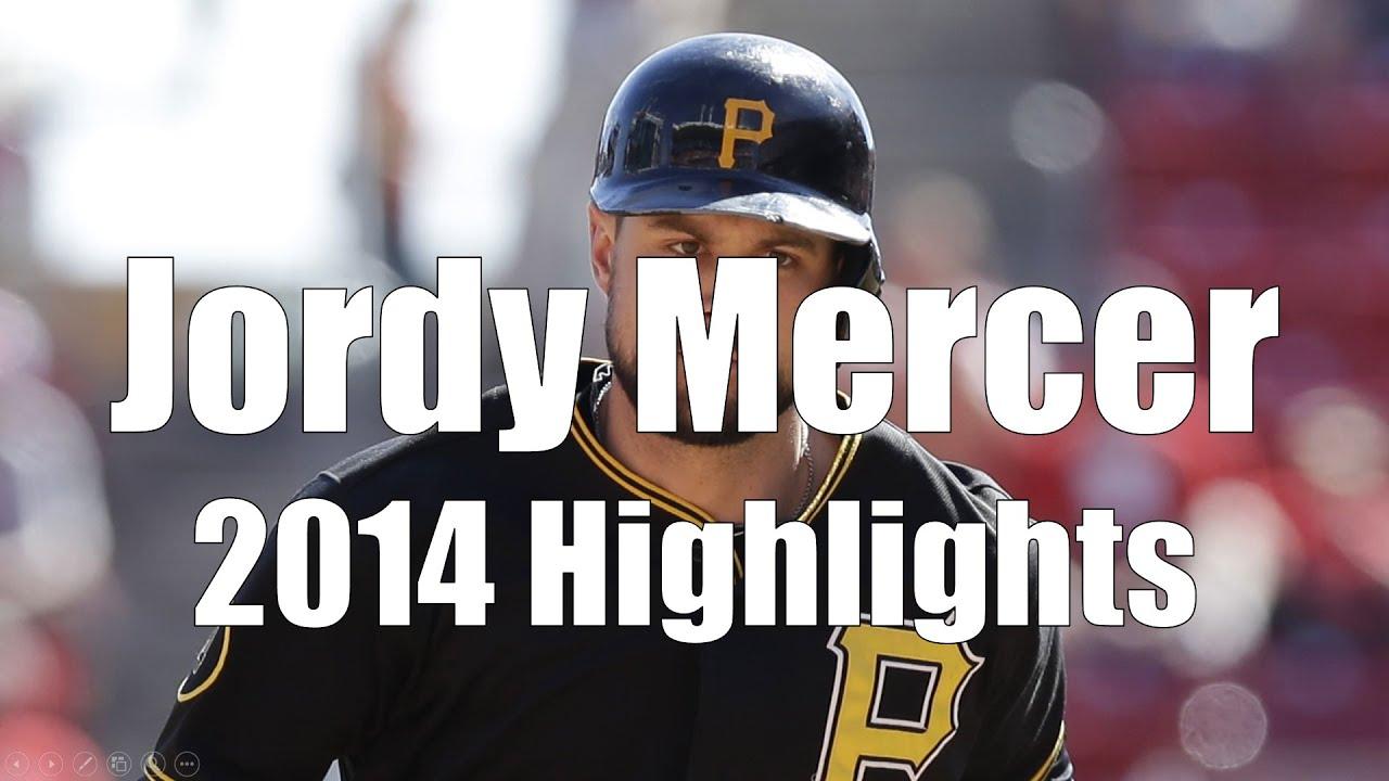 Jordy Mercer - Pittsburgh Pirates - 2014 Highlight Mix HD