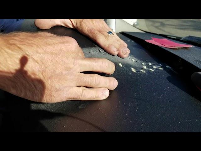 Car Interior - Cosmetic Dash Repair - Boise, Idaho