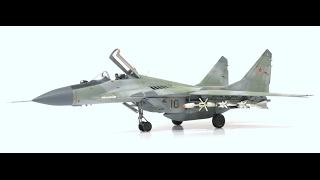 "Hasegawa 1/72 MiG 29 Fulcrum- ""Final Reveal"" (1.31.17)"