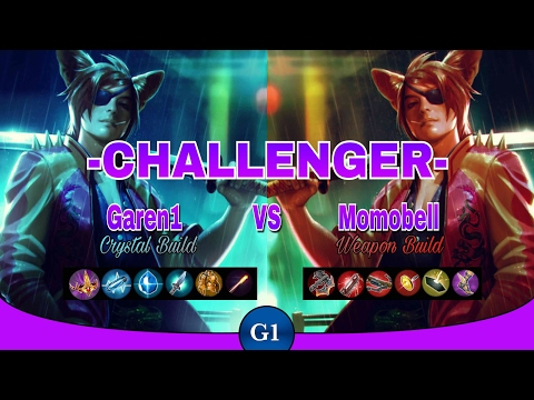 VAINGLORY: Crystal Build Taka VS Weapon Build Taka | Epic Showdown! | Challenger Ep5