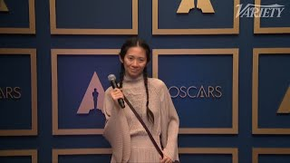 Chloé Zhao on Making Oscar History as the First Woman of Color to Win Best Director