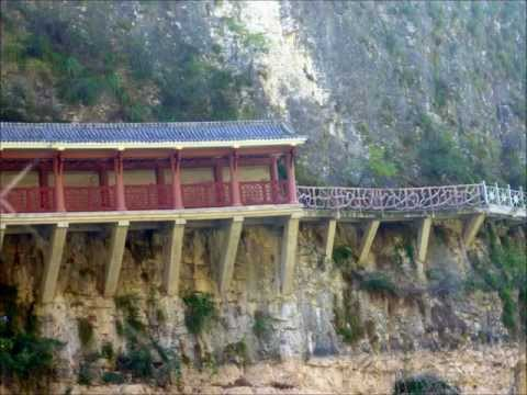 The Yangtze River, China - Three Gorges Area;  Three Gorges Dam locks