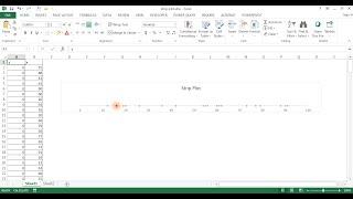 Create a Horizontal Strip Plot
