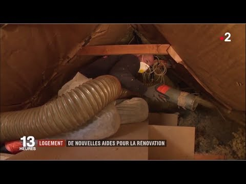 Economies d'énergie - L'Agence Française pour l'Isolation de l'Habitat au JT de 13h de France 2