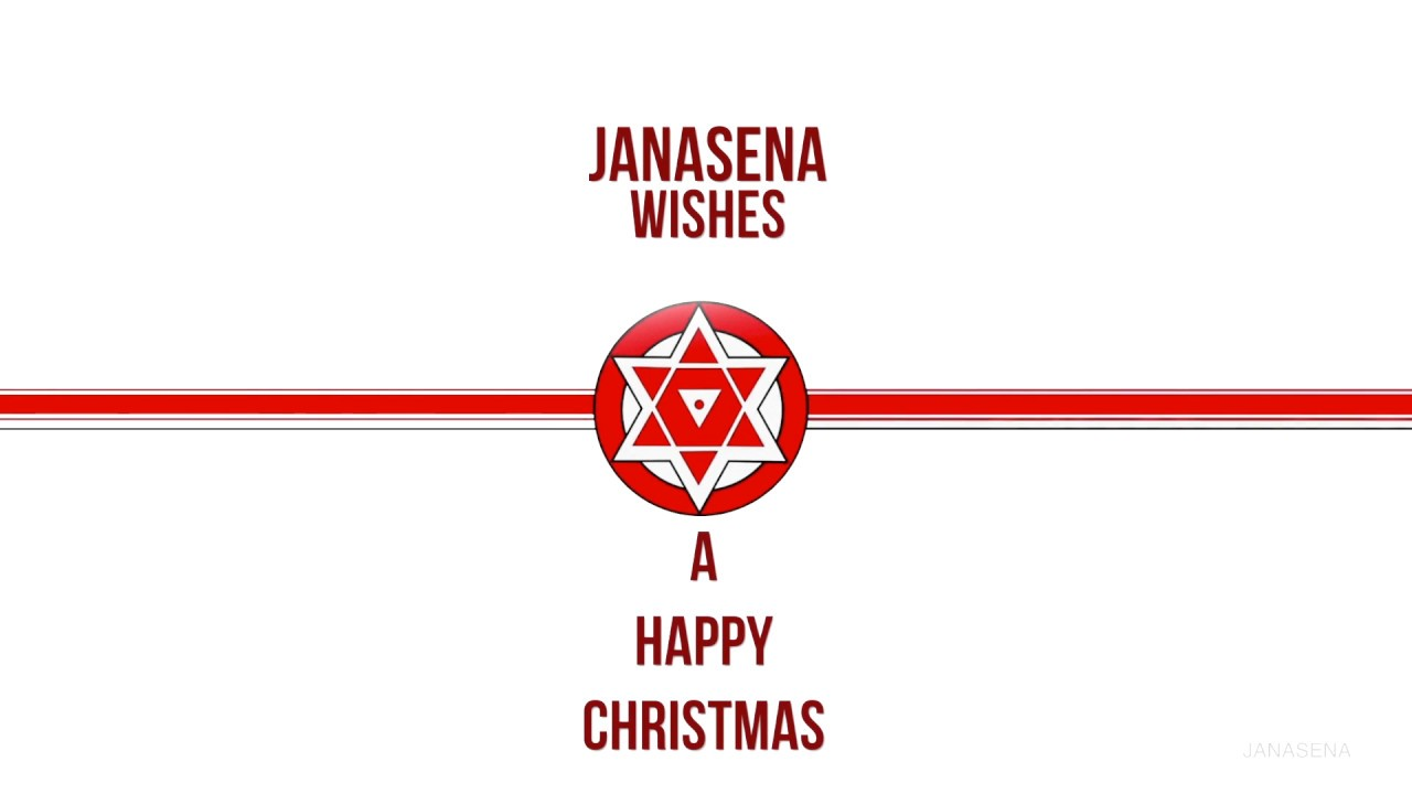 Janasena Cheif Pawan Kalyan S Christmas Greeting With A