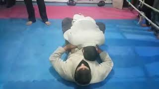 Lahore jujitsu good gym .At Ultimate martial arts center Walton Branch lahore.