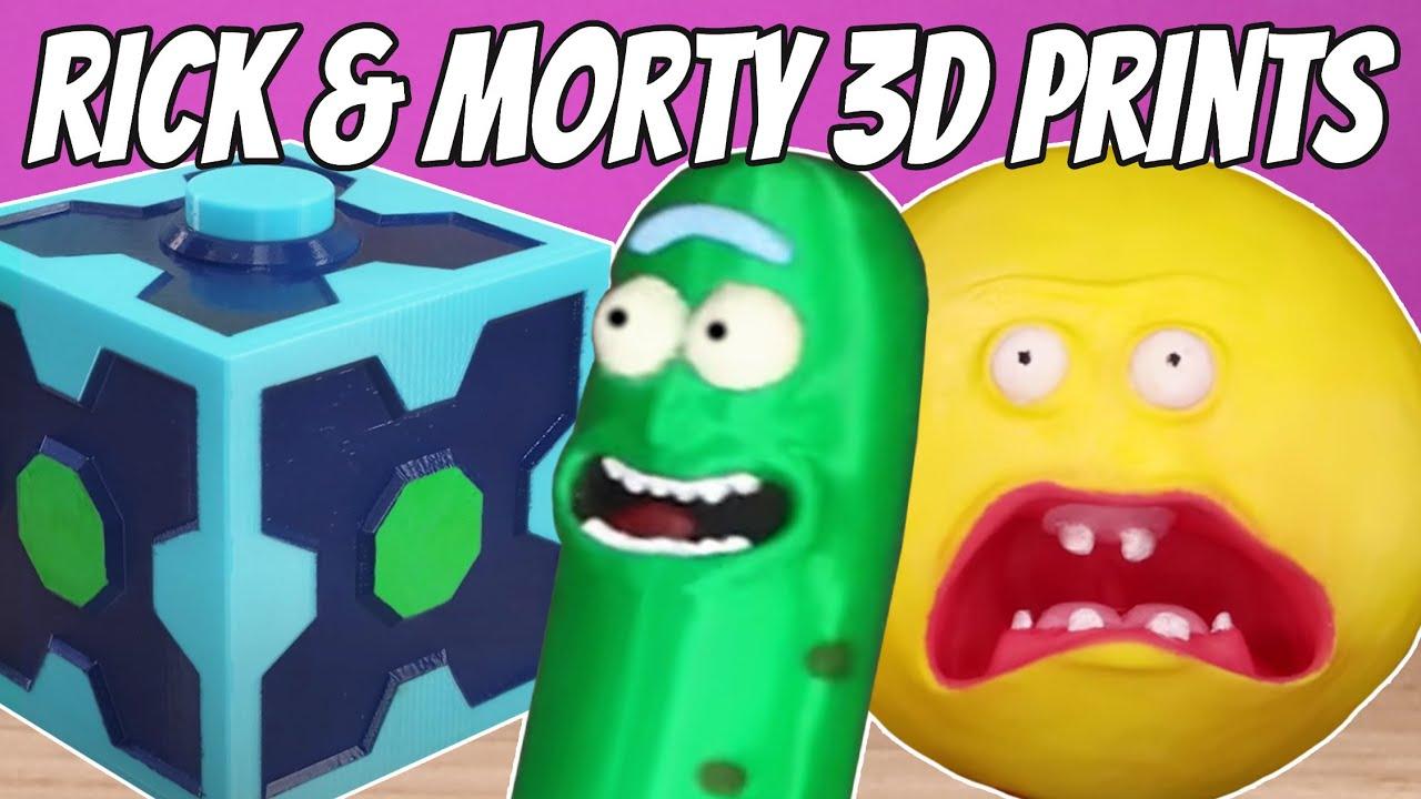 Top 10 Rick And Morty 3D Prints
