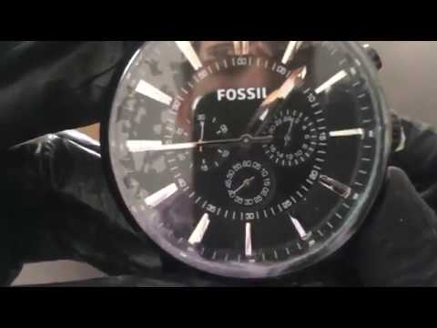 23f3ffbe6 Reloj FOSSIL FS4778 - UNBOXING FOSSIL Watch FS4778 (Regaloj) - YouTube