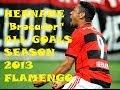 "Hernane ""Brocador"" - Todos os 36 gols em 2013 HD - All Goals - Flamengo - The Best Striker in Brazil"