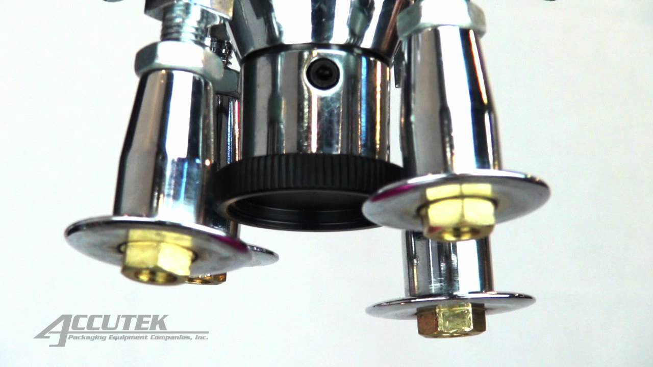 Accutek Semi Auto Roll On Pilfer Proof Ropp Capping