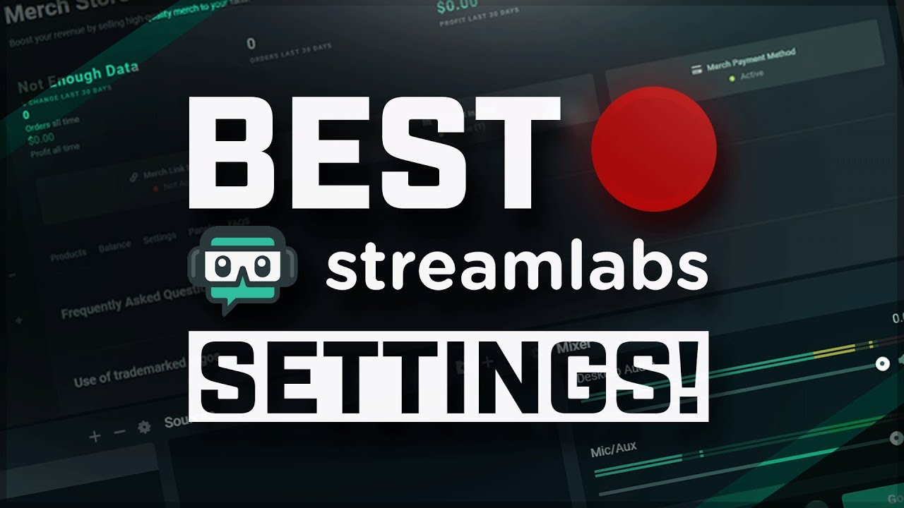 Best StreamLabs OBS Recording Settings 2019! 🔴 1080p 60fps Gameplay EASY!  (Tutorial)