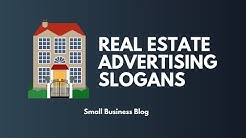 Catchy Real Estate Advertising slogans