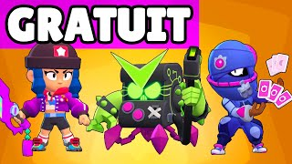 BRAWL STARS LIVE GIVEAWAY SKIN, GAMEPLAY NOUVEAUX SKINS, EQUILIBRAGE Mise à jour 2020 !!!