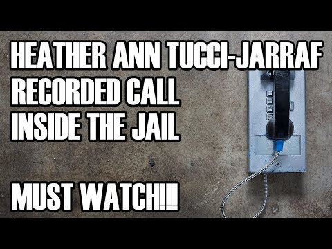 (WILL BE RELEASED) Recorded Call From Inside Jail - Heather Ann Tucci-Jarraf & BZ Riger